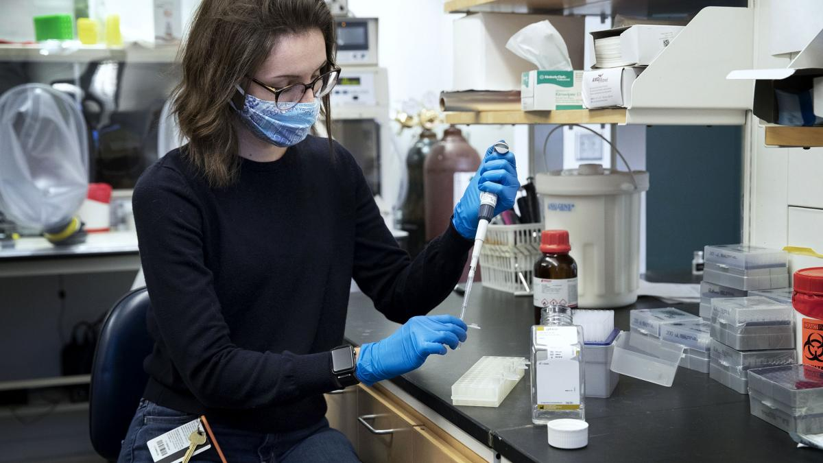 Meet Allie Donlan, a UVA Researcher Whose Work Has Changed the COVID-19 Fight