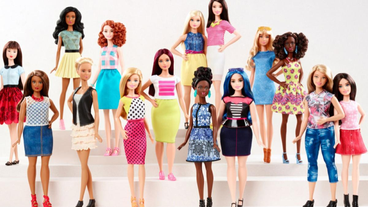 "New Barbies will be available in short, tall, thin and ""curvy."""