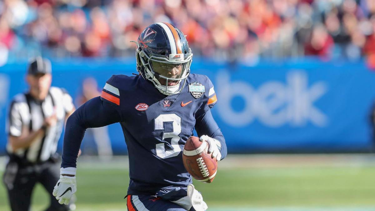 After leading the Cavaliers to the Belk Bowl championship, quarterback Bryce Perkins will again pilot the UVA offense this fall against a schedule that includes seven games in Scott Stadium.