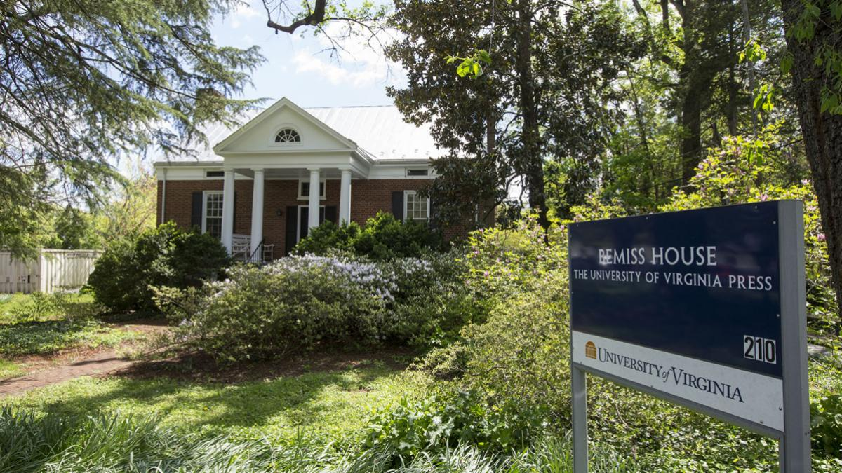 The UVA Press, housed on Sprigg Lane in Charlottesville, currently publishes 70 new titles annually as well as a robust digital publishing portfolio. (Photo by Dan Addison, University Communications)