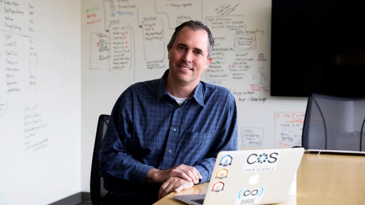 In addition to leading the Center for Open Science, Brian Nosek runs a lab that studies unconscious thoughts and feelings and how they influence perception, judgment and action.