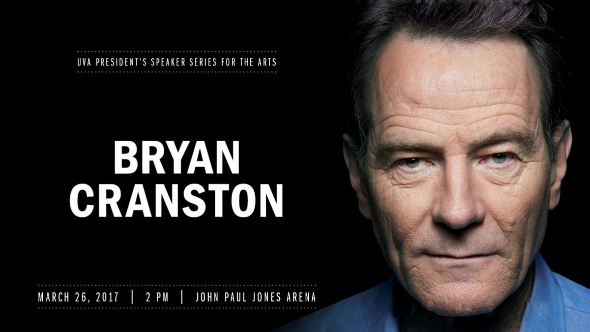 Q&A: As He Heads to UVA, 7 Questions for 'Breaking Bad' Star Bryan Cranston