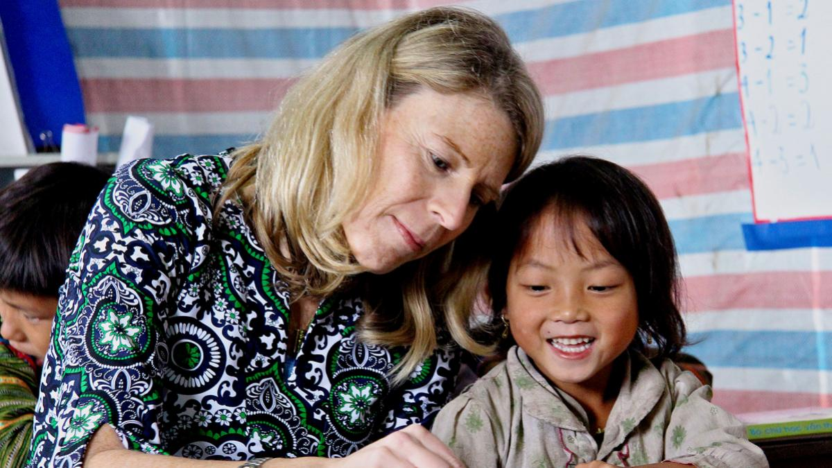 Carolyn Miles leads Save the Children, which serves more than 165 million children in the United States and another 120 countries.