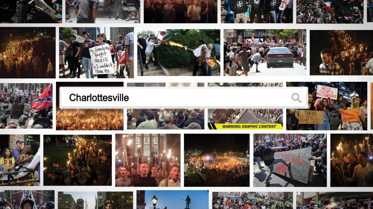 "The ""Charlottesville"" documentary focuses on footage and firsthand accounts of the violence on August 11-12, 2017. (Image: Community Idea Stations)"