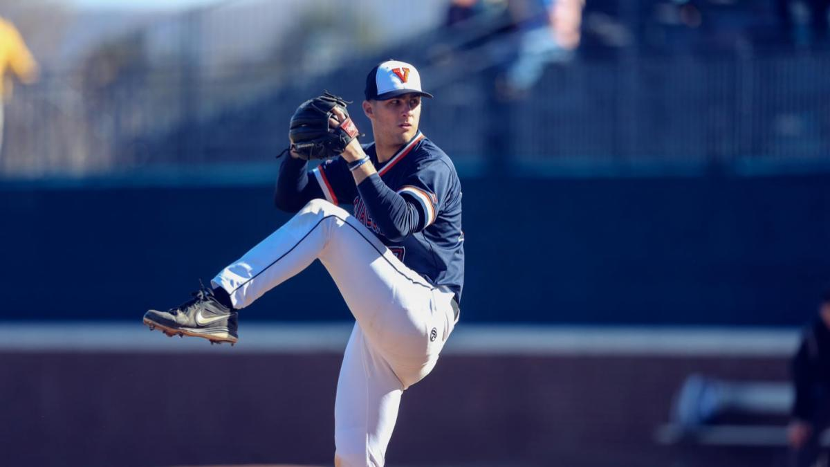 """I think student-athlete involvement outside of athletics is really important,"" said Cavalier baseball player Chesdin Harrington, who has sought out experiences outside athletics during his time at UVA."
