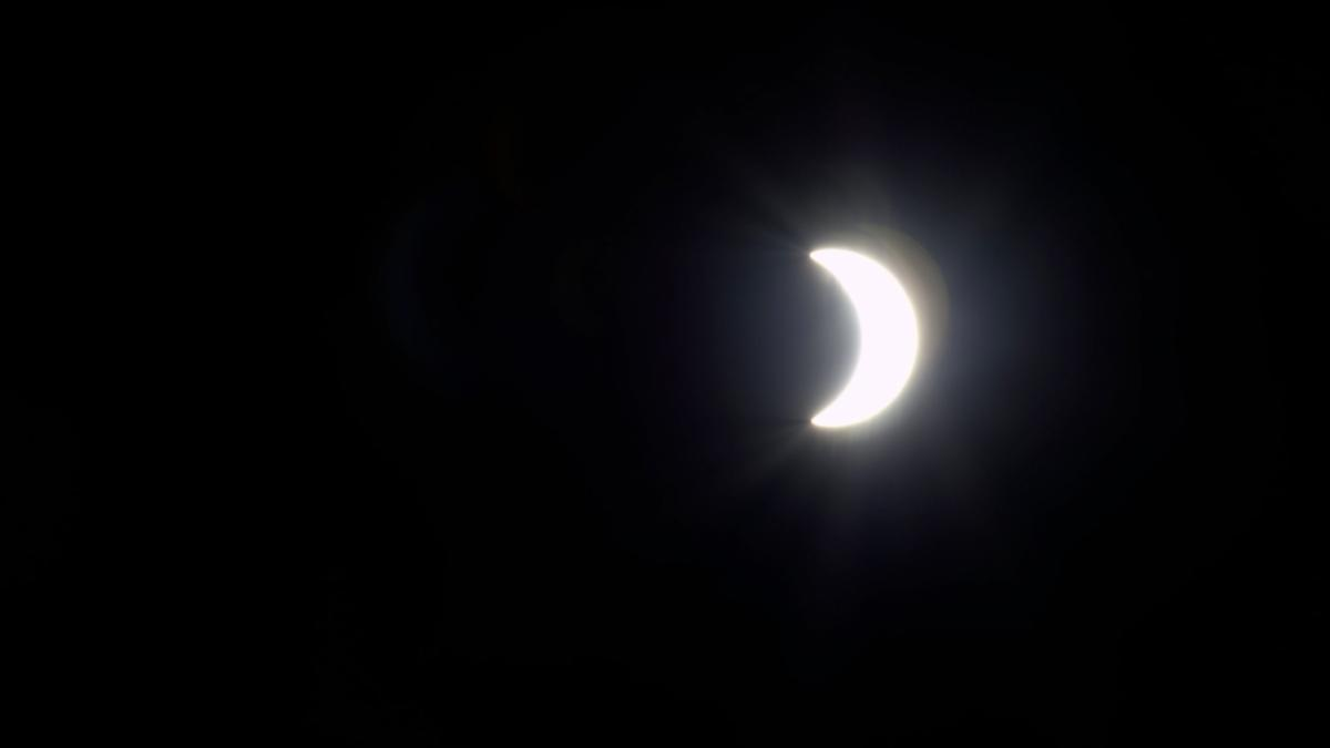 In central Virginia, the solar eclipse will begin at 1:15 p.m. and end at 4:01 p.m.
