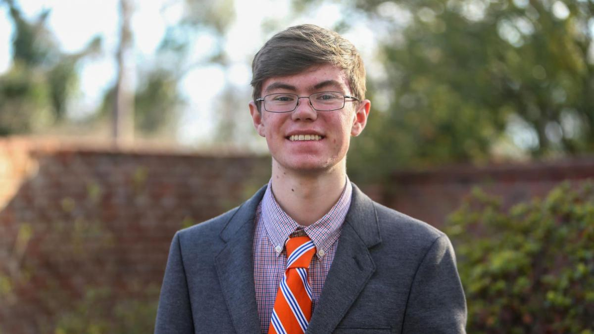 Though he will graduate at a much younger age than most students even enter the University, Henry Muhlbauer found the place where he belongs at UVA.