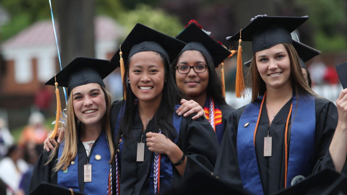 Graduates at Final Exercises