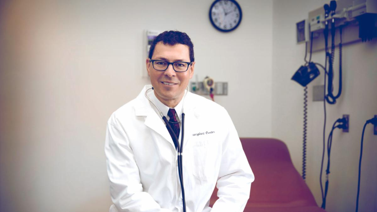 Dr. Jose Oberholzer is the incoming director of UVA's Charles O. Strickler Transplant Center.