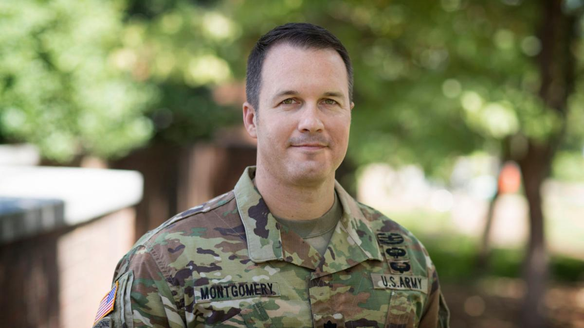 Lt. Col. Kelly Montgomery is the new commander of the U.S. Army ROTC program at UVA. (Photo by Dan Addison, University Communications)