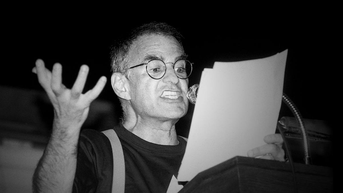 "Larry Kramer in Love and Anger"" will be screened at UVA on Sunday as part of the Virginia Film Festival."