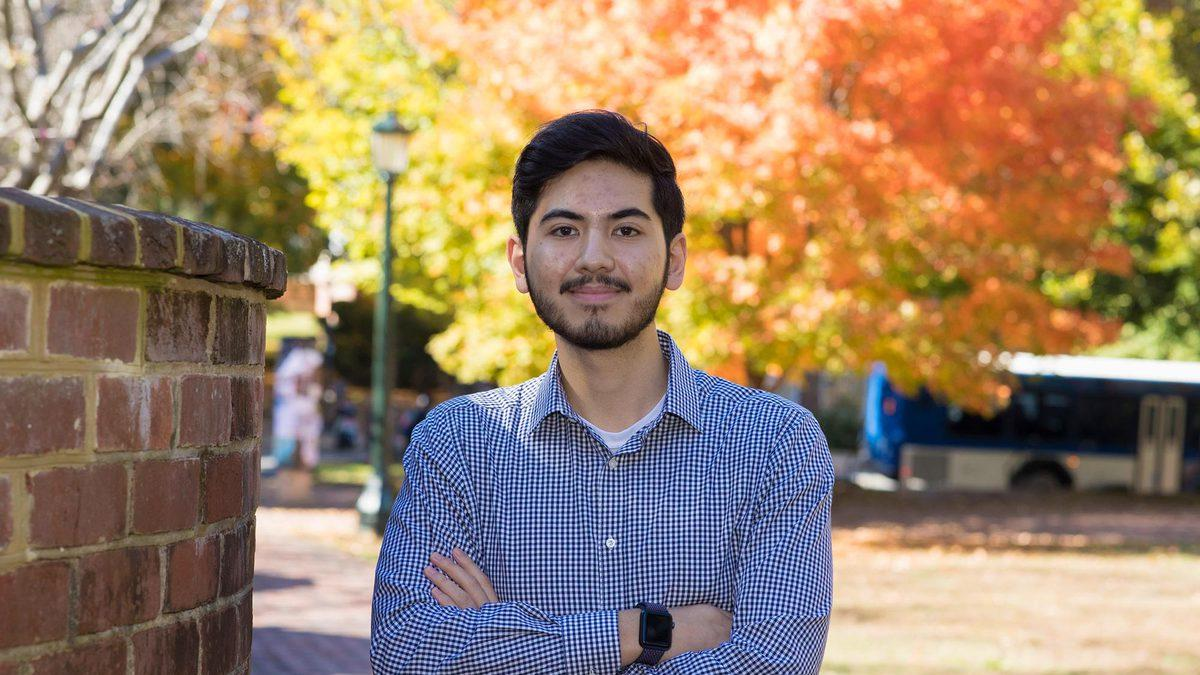 Fourth-year student Misran Dolan is studying Uyghur culture through the Religion, Race & Democracy Lab in UVA's Democracy Initiative.