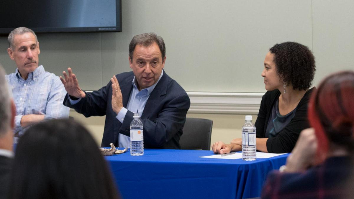 Journalist and UVA alumnus Ronald Suskind, the father of a son who is on the autism spectrum, currently chairs the UVA-Curry Autism Advancement Council.