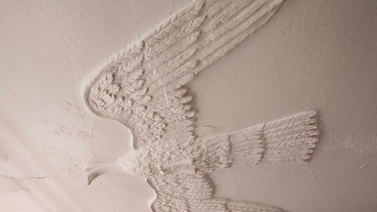 The eagle was most likely first installed when the Rotunda was rebuilt following the 1895 fire.