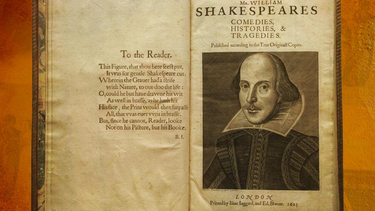 The national tour of Shakespeare's First Folio makes its only Virginia stop at UVA in October.