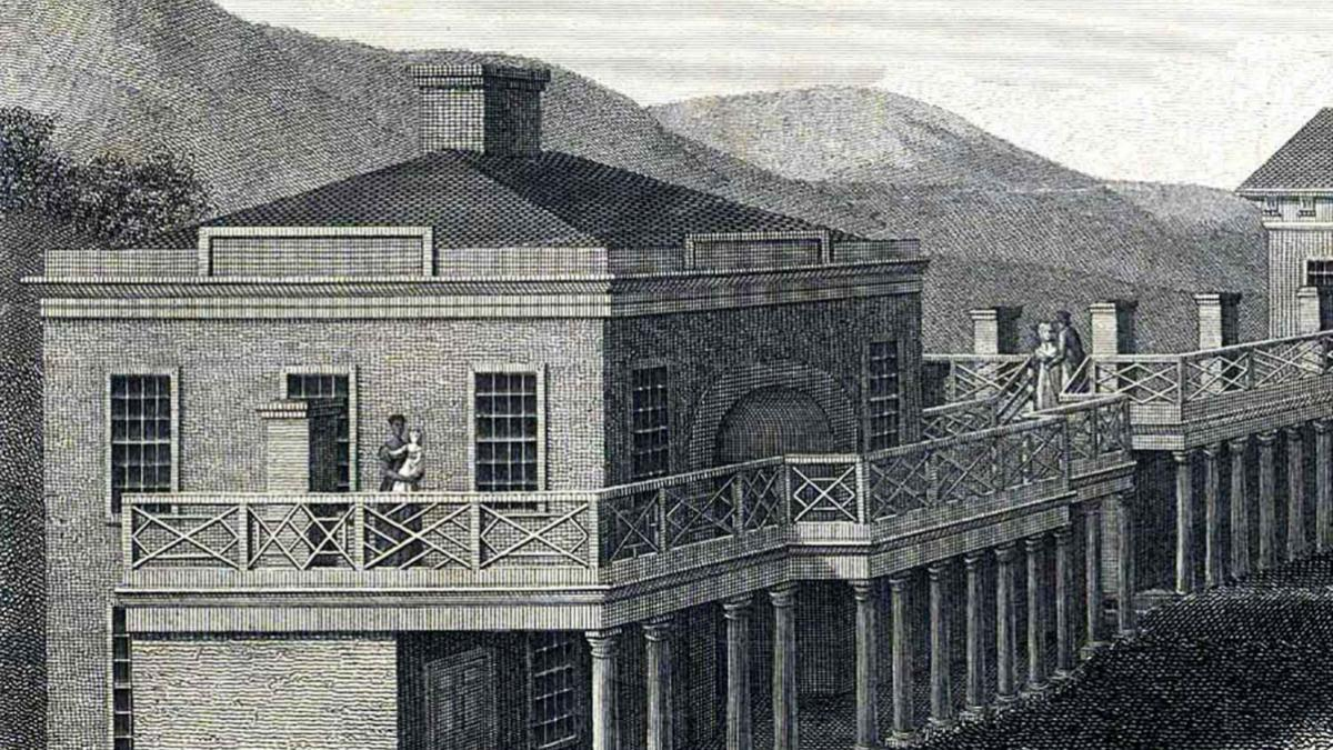 Detail from B. Tanner, 1827, Albert and Shirley Small Special Collections Library.