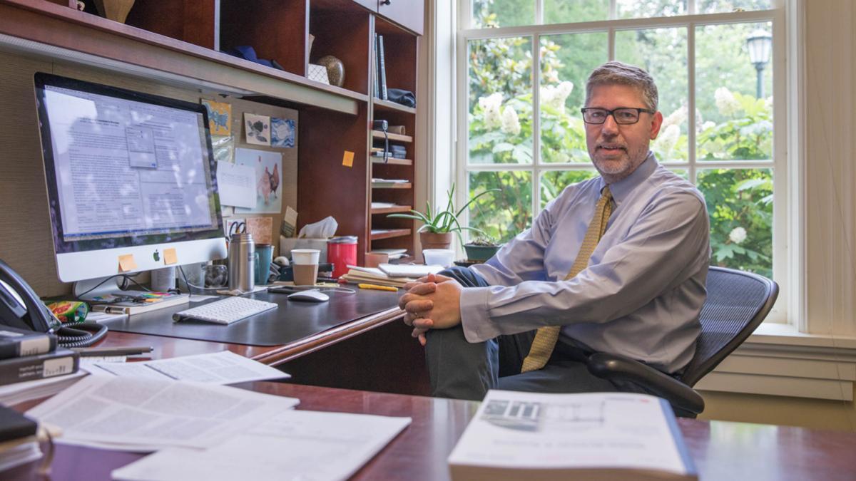 Steven L. Johnson is an associate professor of Commerce in UVA's McIntire School of Commerce.