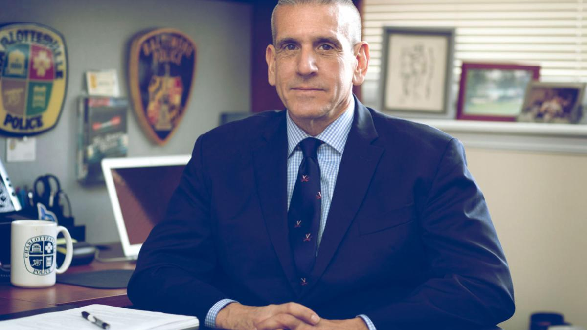 Former Charlottesville Police Chief Tim Longo is working to design a new master's program in public safety administration. (Photo by Dan Addison, University Communications)