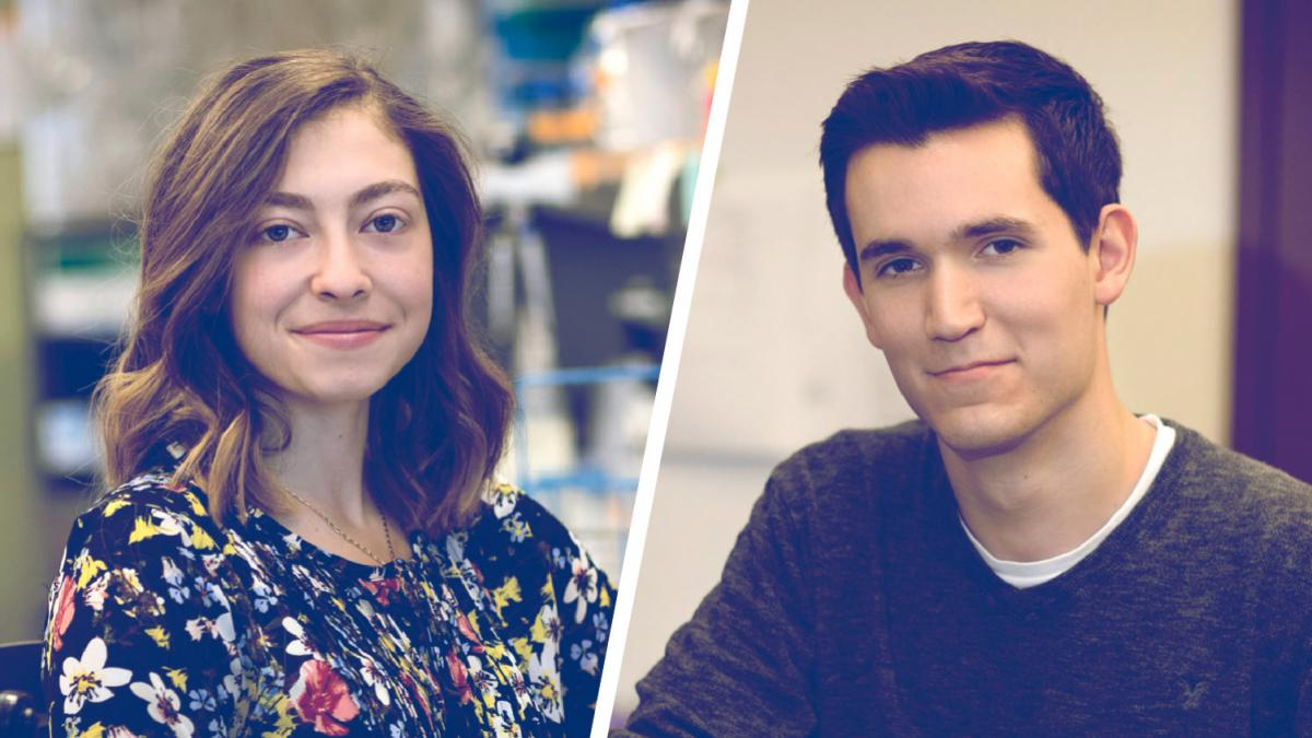 Undergraduate Duo Nab Major Science Research Awards