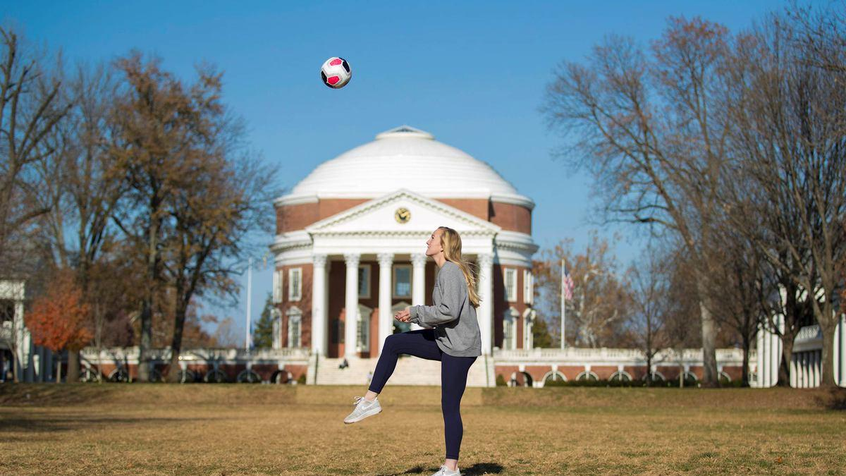 In her four years at UVA, Lawn resident Zoe Morse has done much more than just play soccer.