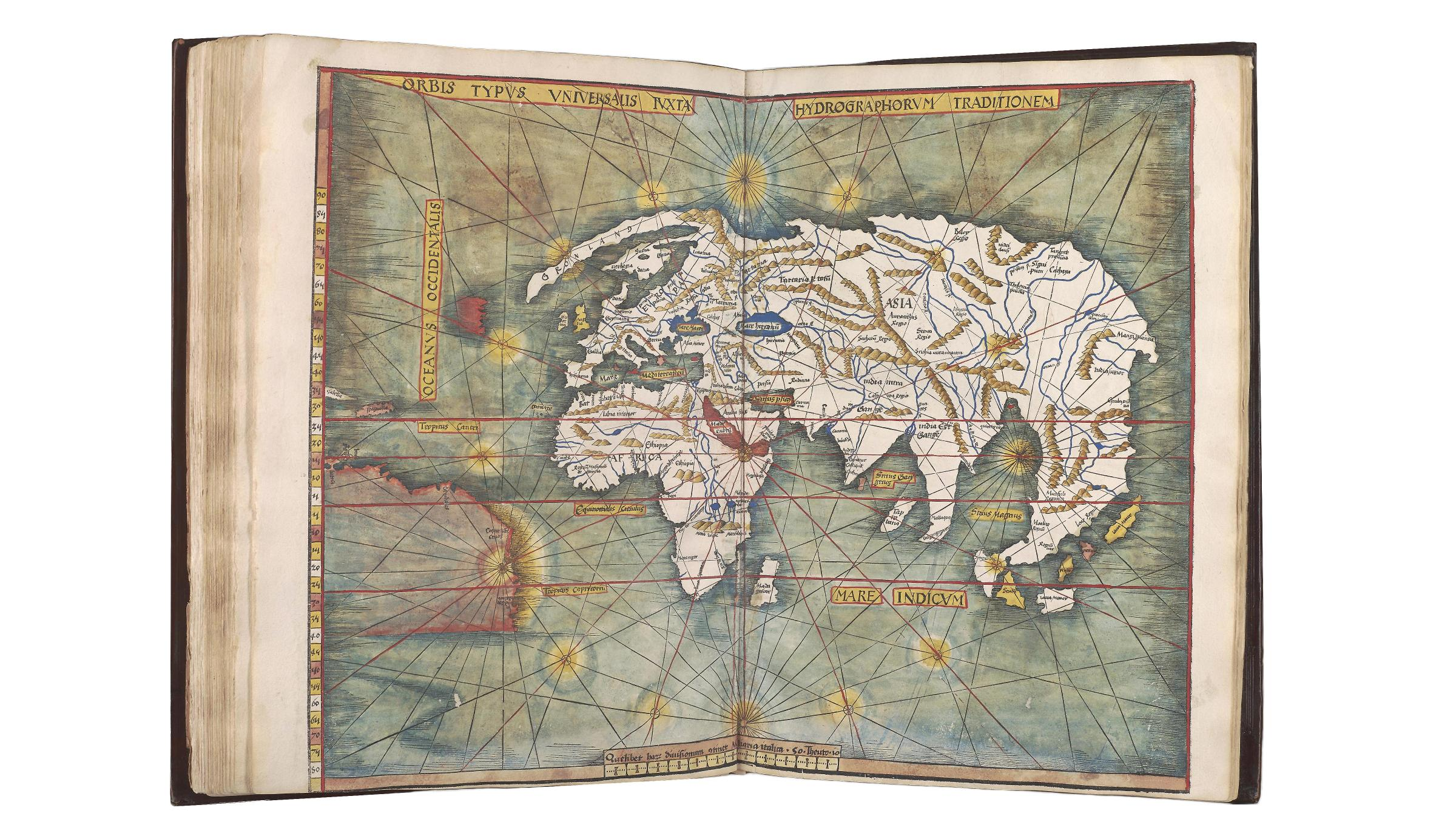 Mcgregor library offers rare digital history of the americas uva today news of exploration was pouring in so quickly that at the time of publication scotts world map was already outdated still the books exquisite gumiabroncs Images