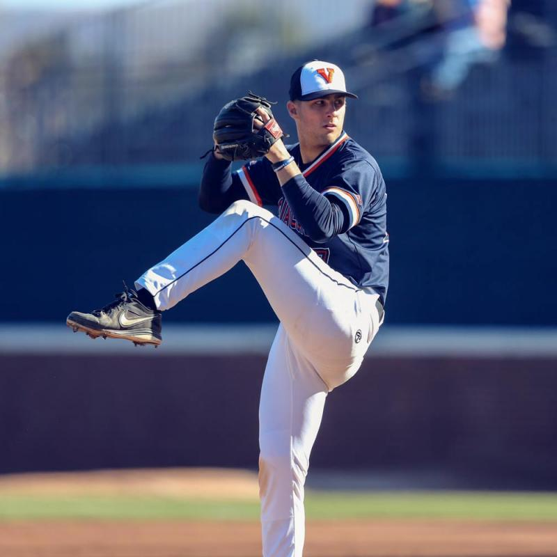 Baseball brought Chesdin Harrington to UVA, where he sought to challenge himself as an athlete, student and community member.