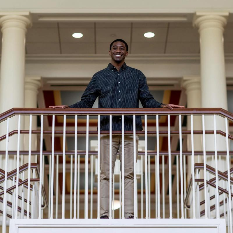 Newport News native Rambert Tyree, who made quite an impact as an undergraduate, will stay on Grounds to attend UVA's School of Law.