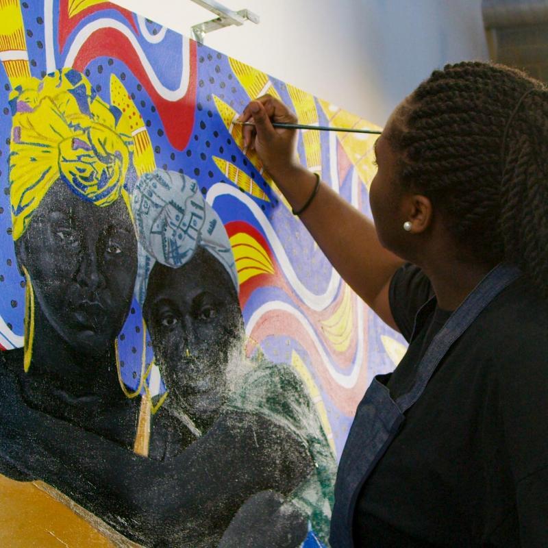 Student Spotlight: Meet Fourth-Year Student Artist Uzo Njoku