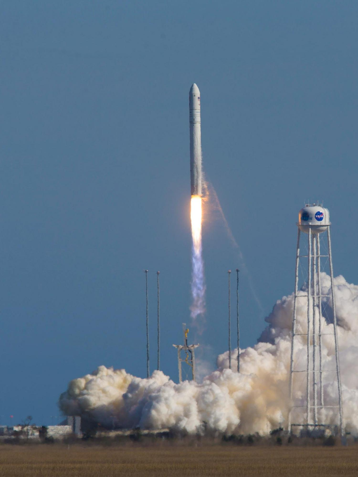 "An Antares rocket lifted off from NASA's Wallops flight Facility Wednesday afternoon, carrying a UVA-built ""CubeSat"" into space."