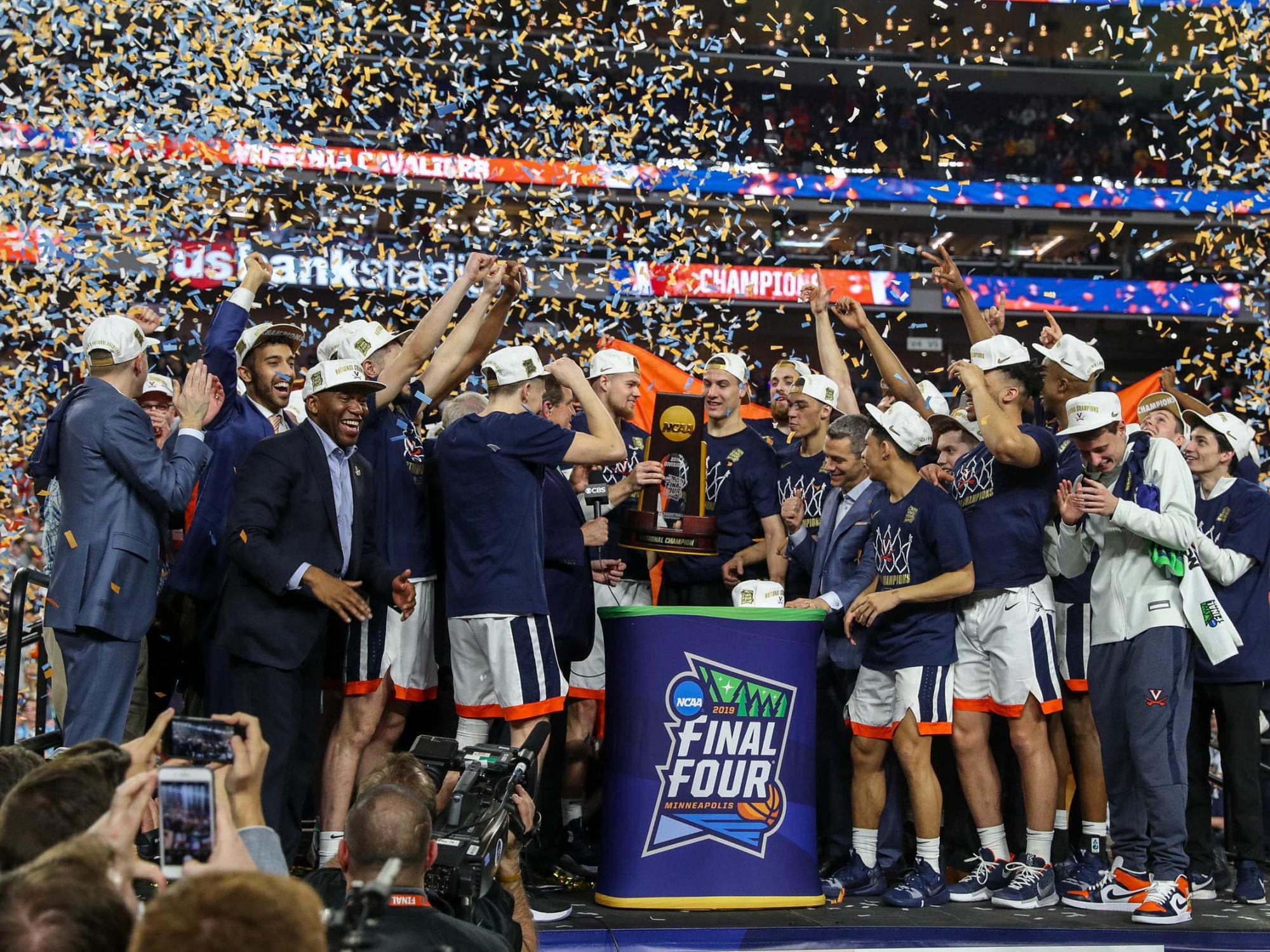UVA Wins 2019 NCAA Men's Basketball Championship | UVA Today