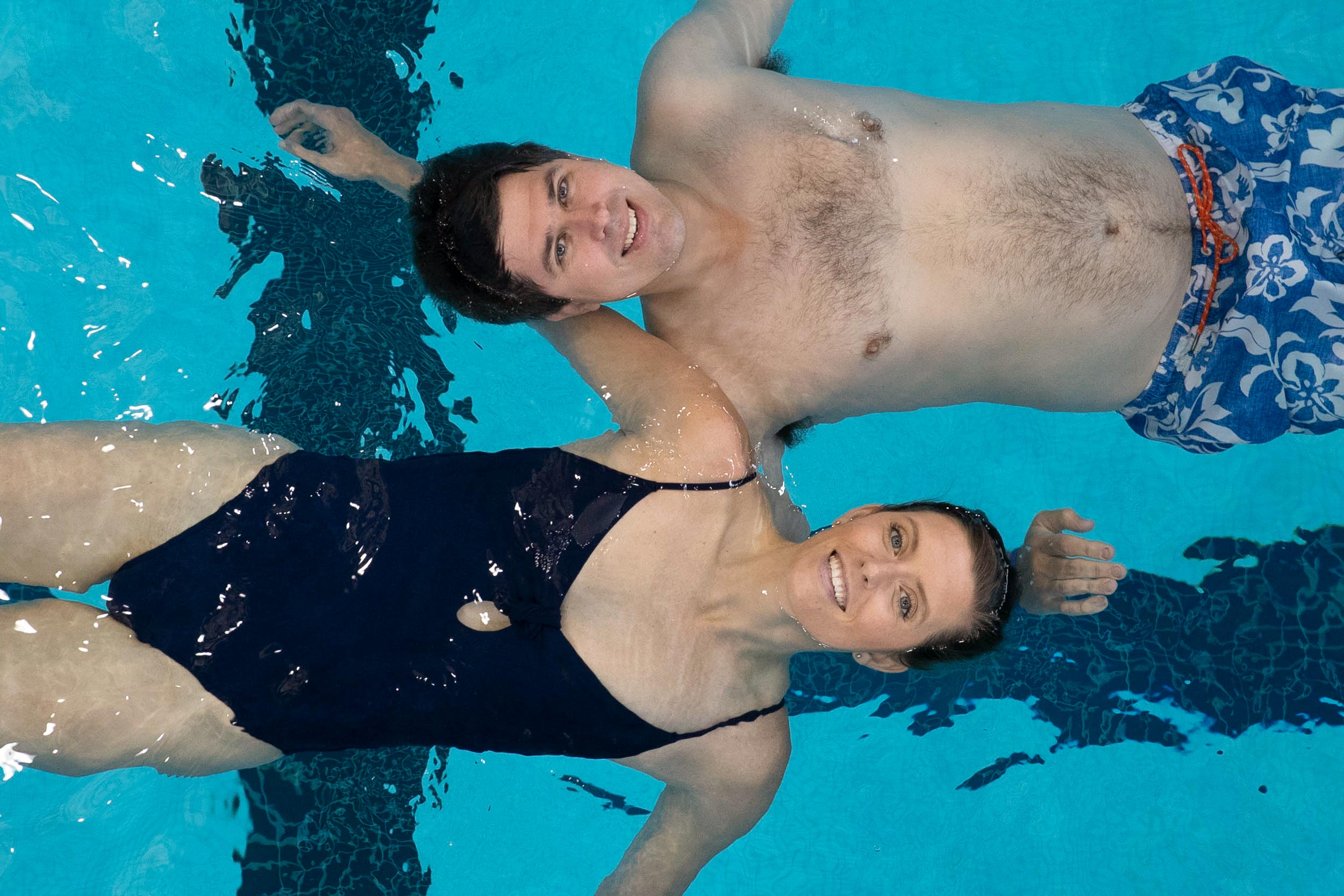 Former UVA swimmers Bo and Megan Greenwood, each seven-time All-Americans and winners of multiple ACC championships, have stayed involved in the sport through a swim school they started 10 years ago.