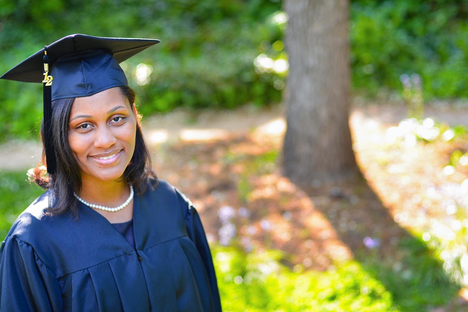 2012 Alumna Tamara Wilkerson (now Dias) was an African American Teaching Fellow in her graduate year in the Curry School's master's in teaching program.