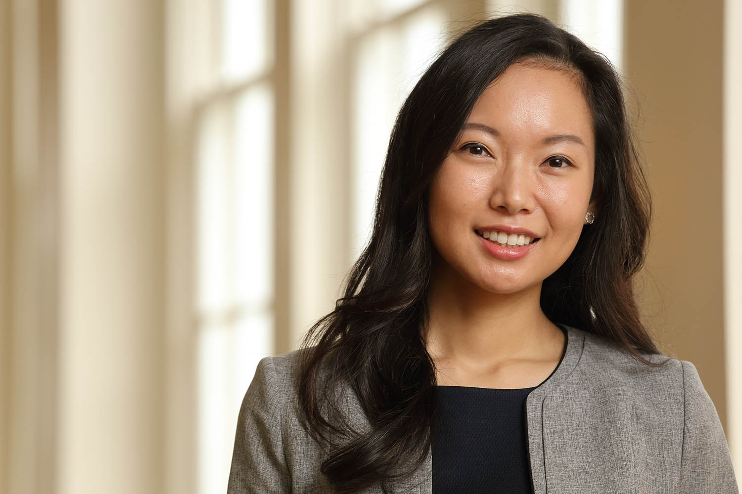 Tami Kim joined the Darden School of Business as an assistant professor of marketing last year. (