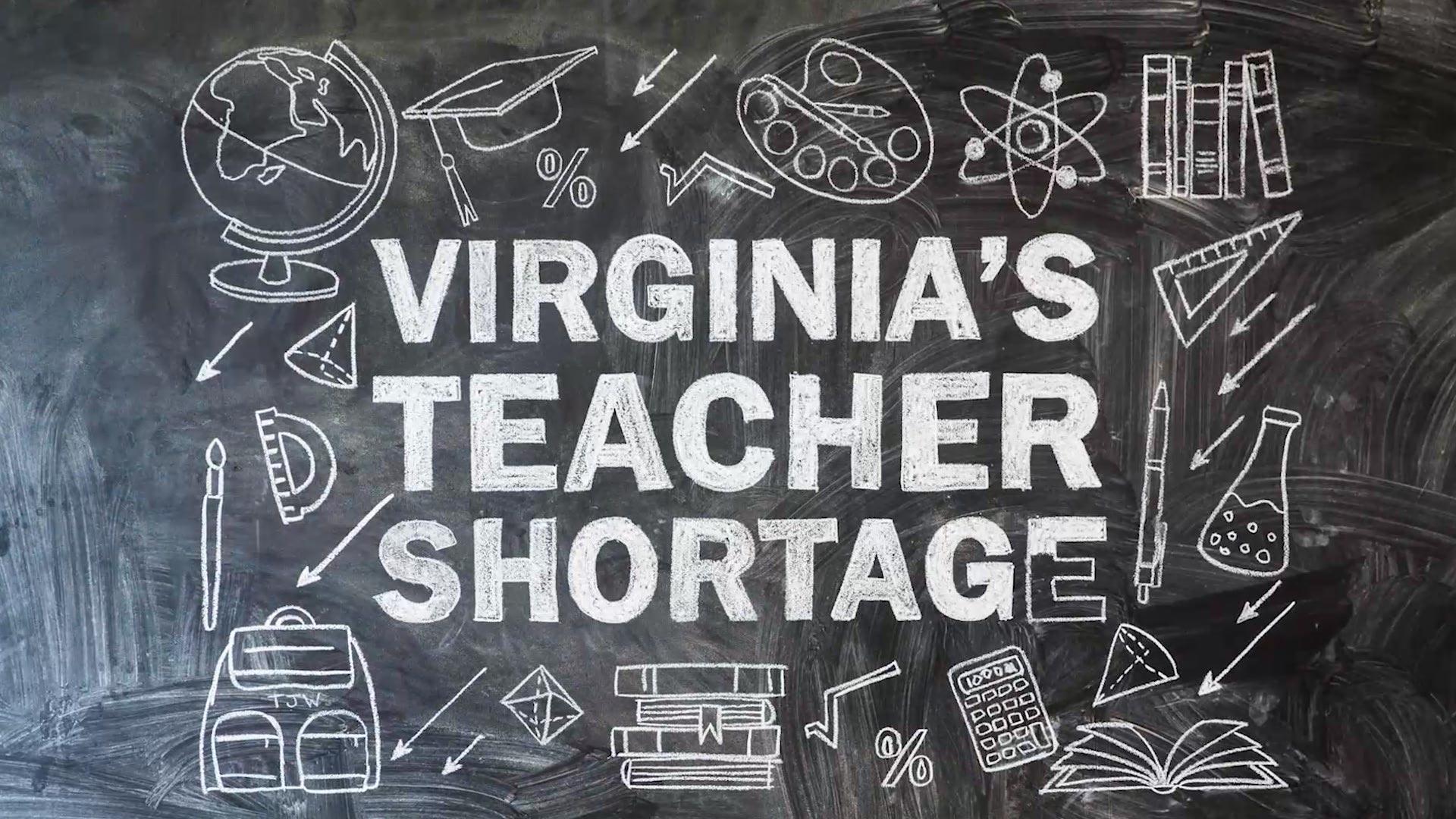 Virginia's Teacher Shortage   UVA Today