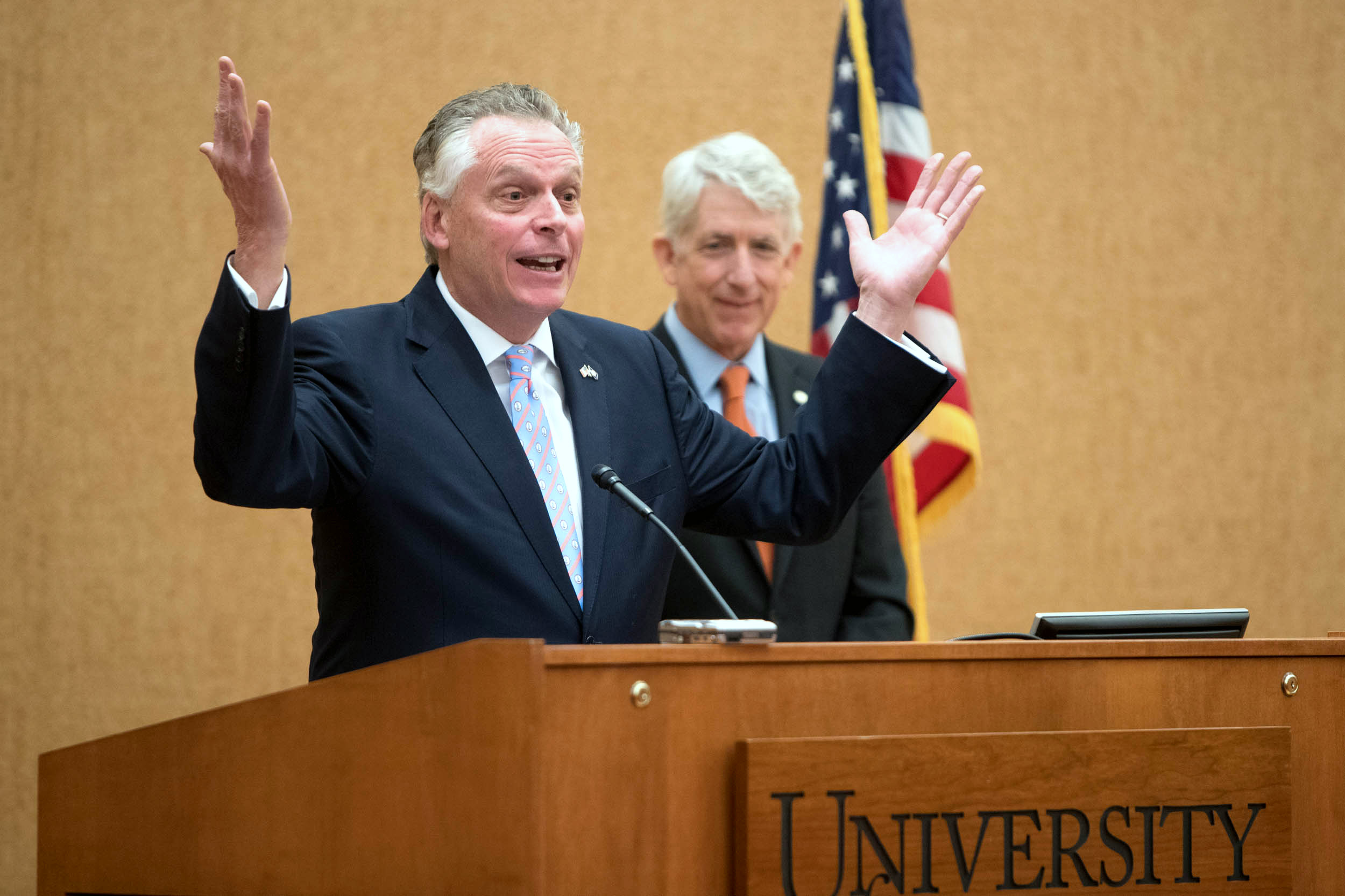 McAuliffe said extending protections to the LGBT population makes sense for civil rights and for business.