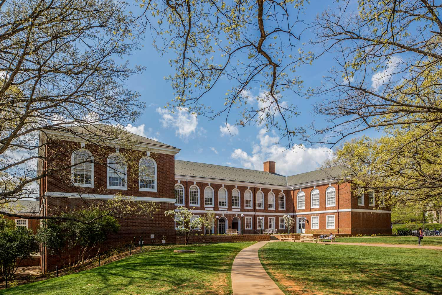 Thornton Hall, home of the School of Engineering and Applied Science.