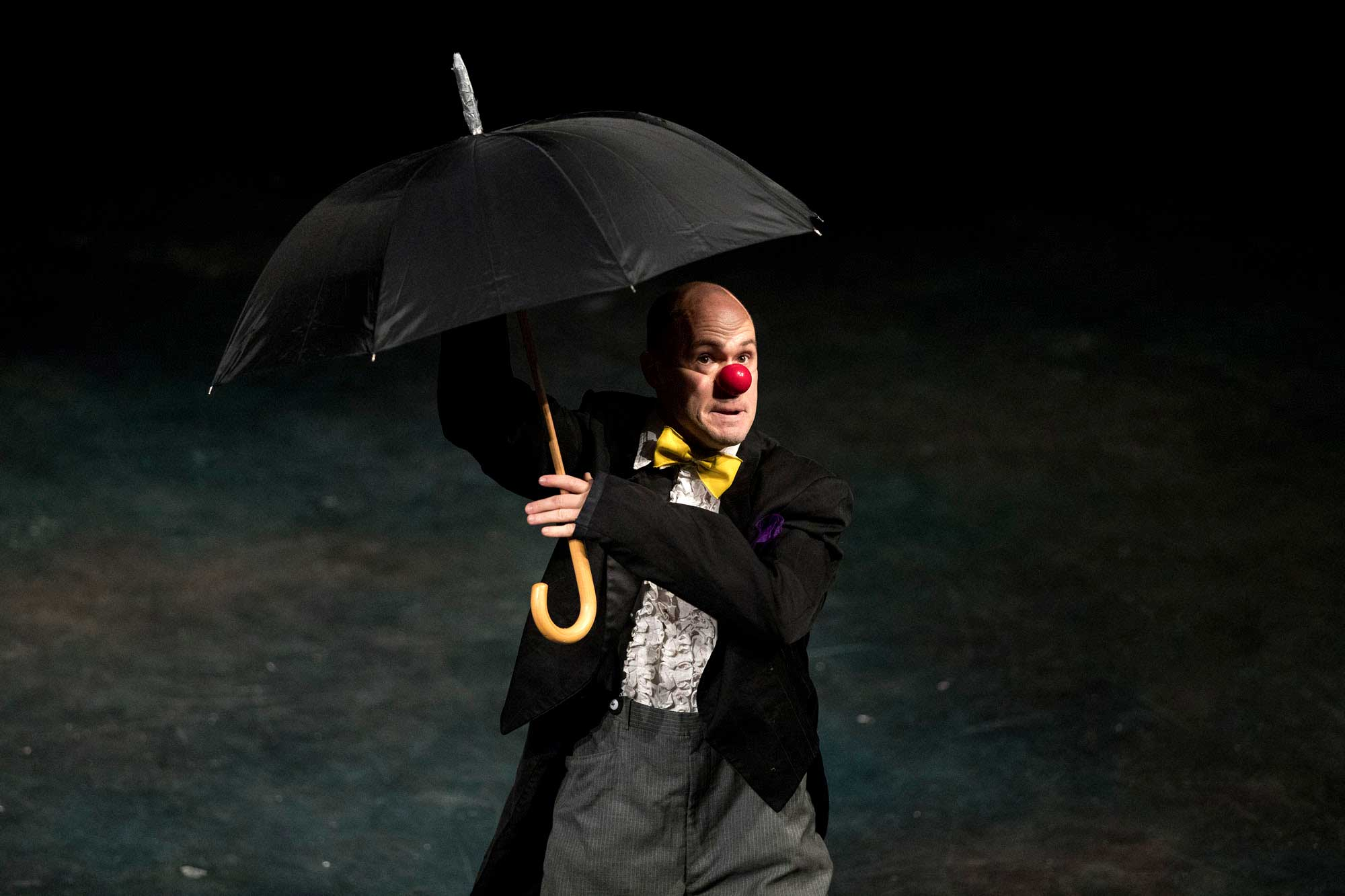 Cunningham has worked as a performer with Clowns Without Borders and served as the organization's executive director. He now sits on the nonprofit's board of directors.