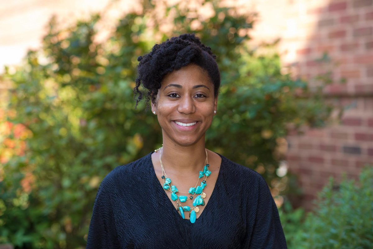 Doctoral nursing candidate Tori Tucker is writing her dissertation about the late 20th-century history of black nurses in Virginia.