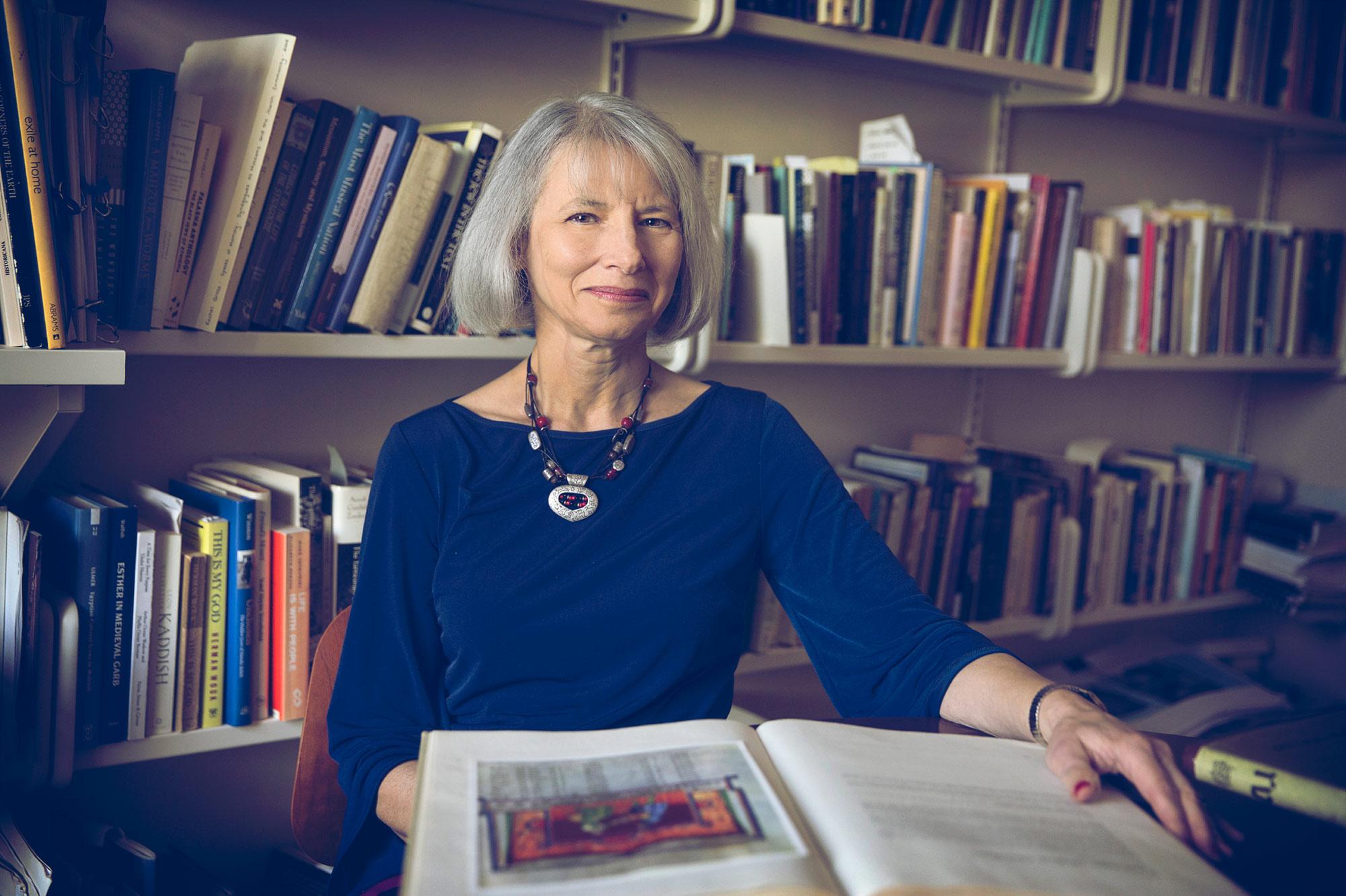 Vanessa Ochs teaches classes on religious ritual and the practice of Judaism in UVA's Department of Religious Studies.