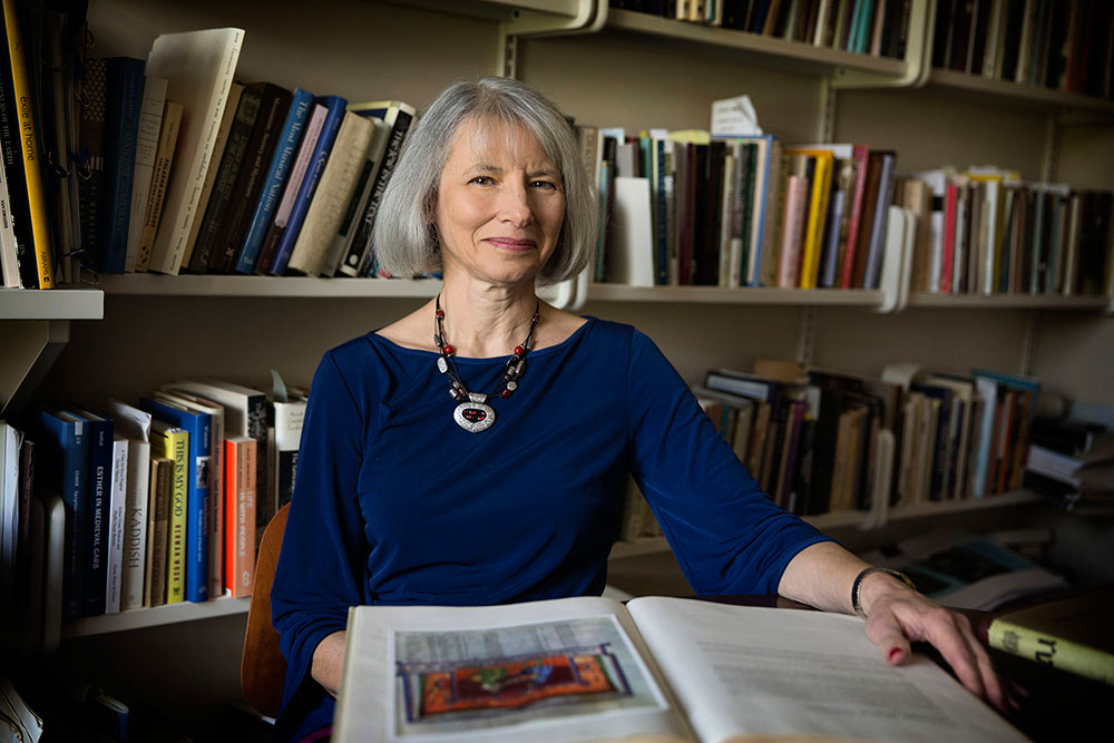 Religious studies professor Vanessa Ochs has long fought for women's rights in Judaism and was ordained as a rabbi three years ago.