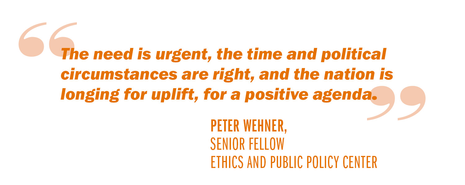 advice to a new president reviving the american dream uva today wehner quote