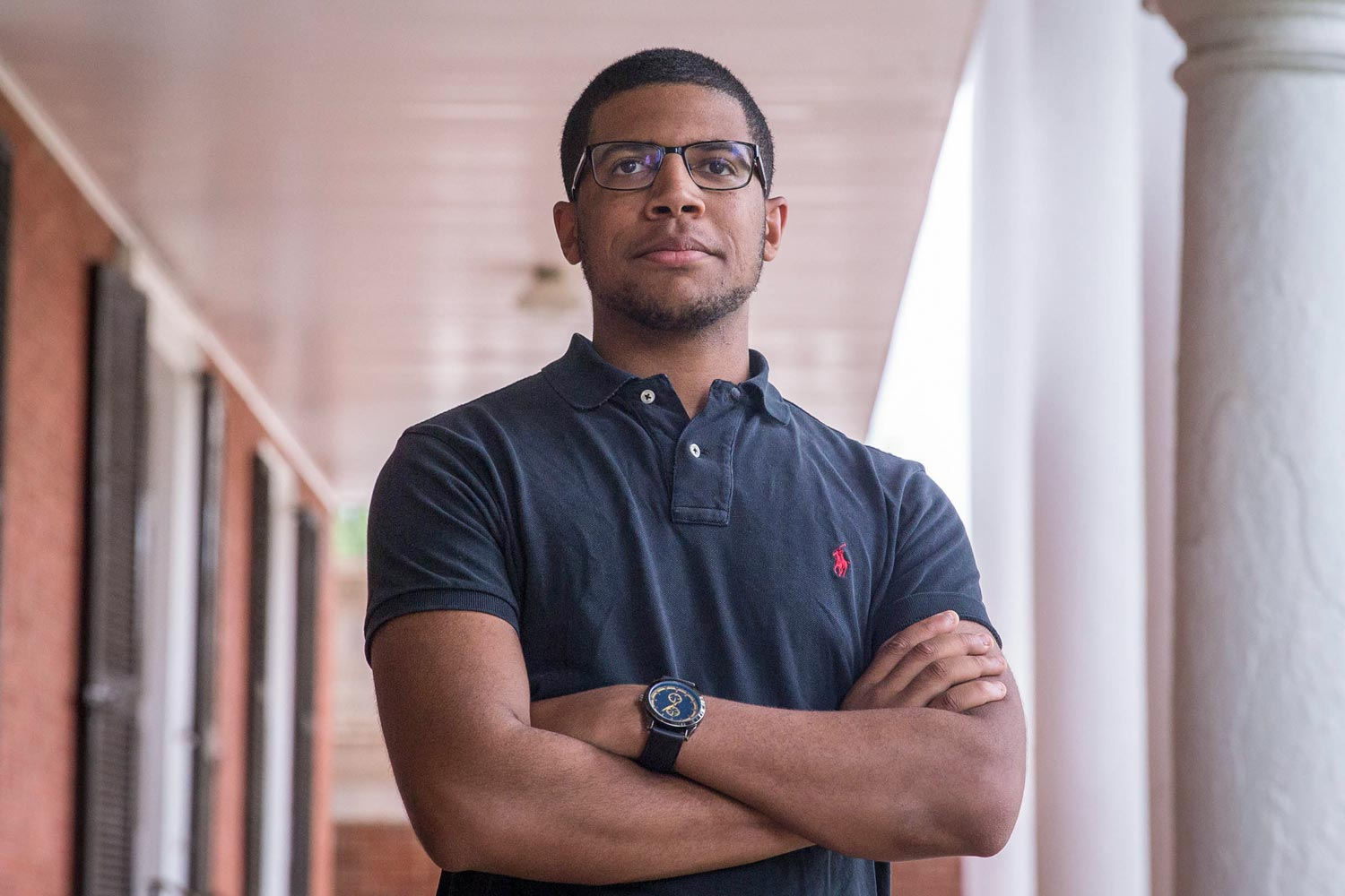 Wes Gobar is the president of UVA's Black Student Alliance.