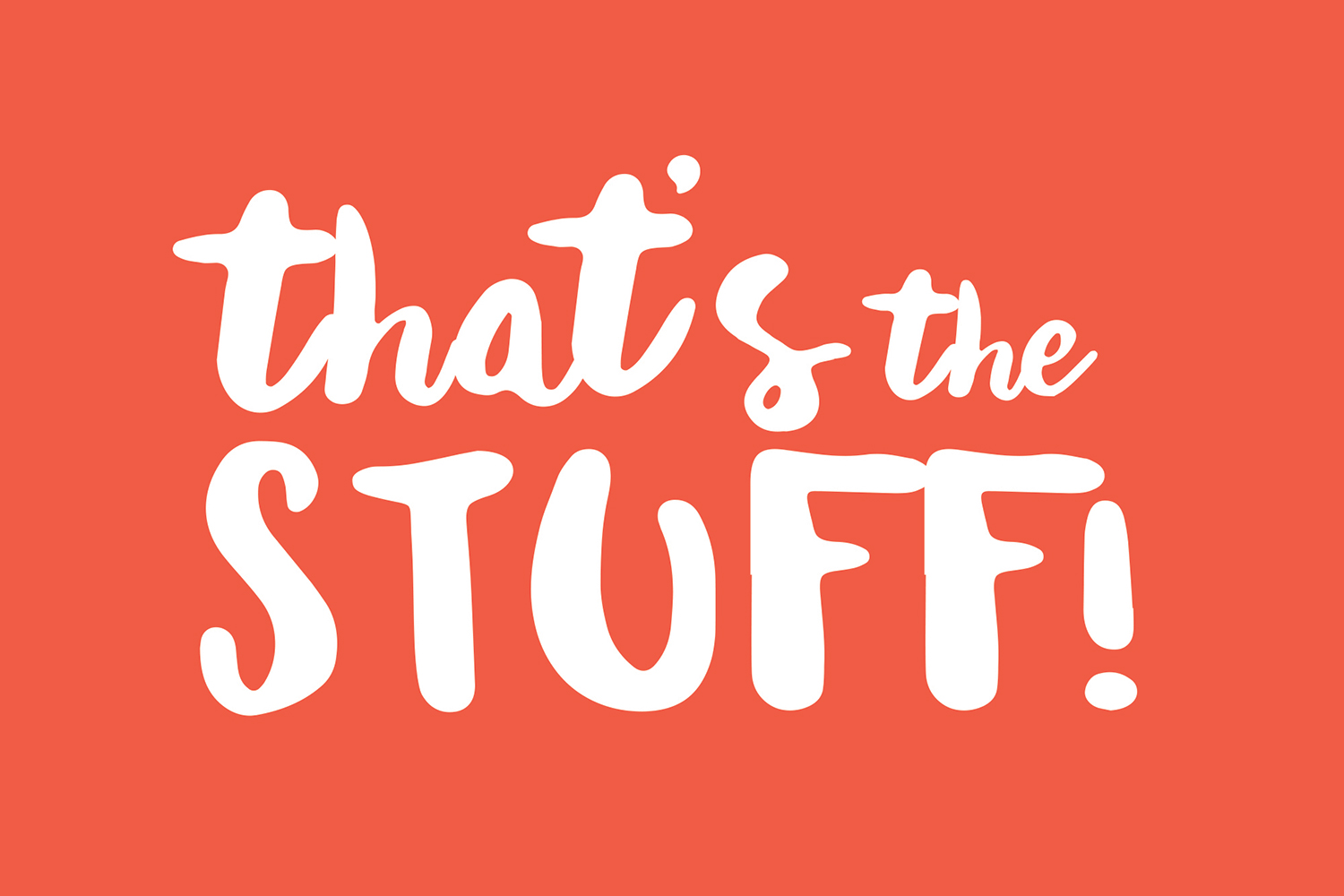 "Students developed a new ""That's the Stuff"" tagline and campaign logo for Snapple, shown here."