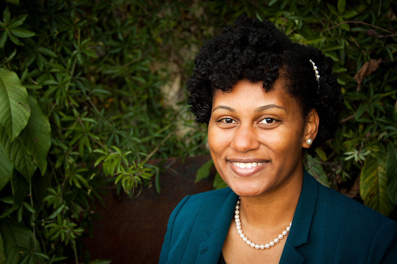Tamara Wilkerson is a 2012 graduate of the Curry School and executive director of the African American Teaching Fellows program.