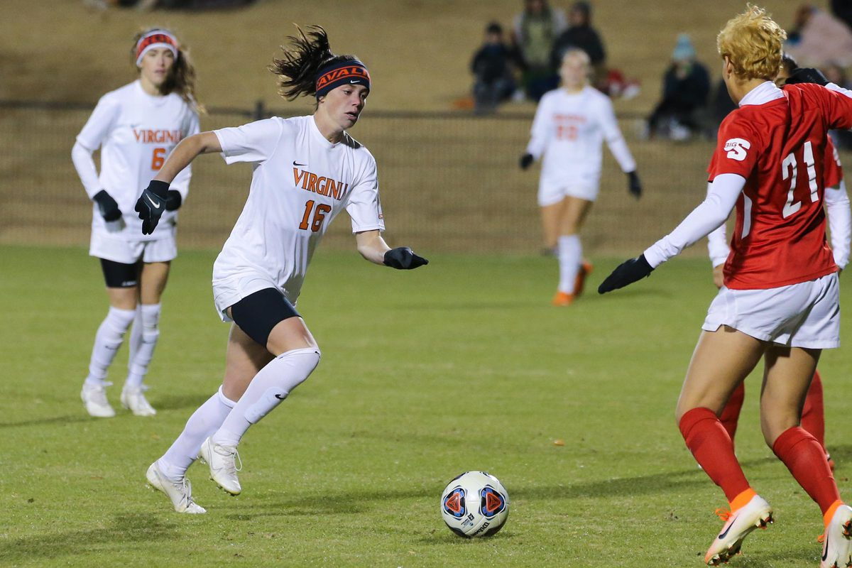 Three different players scored for UVA in its win over Radford on Saturday.