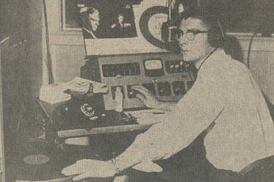 Matthew W. Lucas spun records for 24 hours during a classical music marathon broadcast in April 1961.