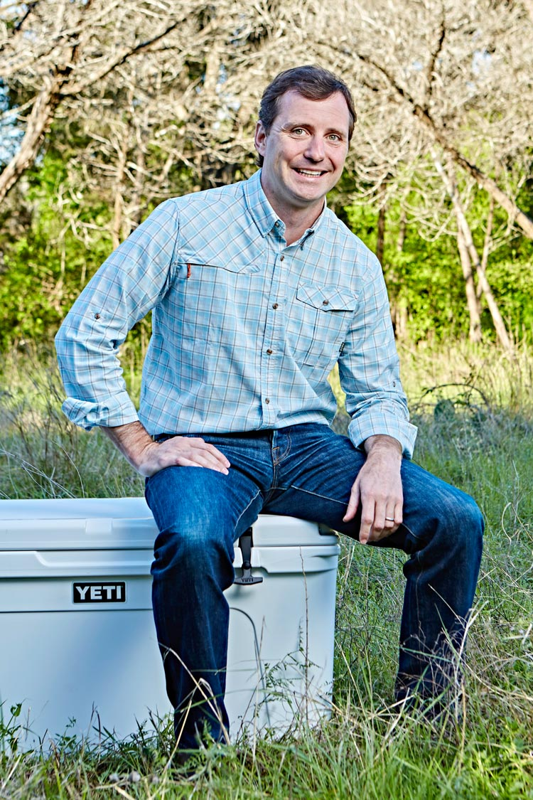 Reintjes, a Darden alumnus, became the CEO of YETI two years ago. (Photo courtesy of YETI)