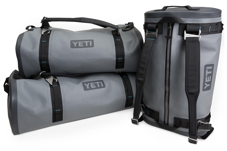The waterproof Panga duffle is among the new products YETI recently unveiled. (Photo courtesy of YETI)